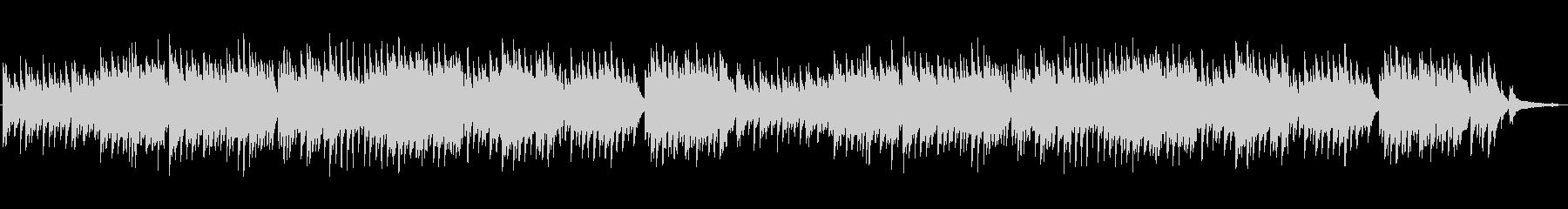 ナレーションの邪魔にならないピアノBGMの未再生の波形