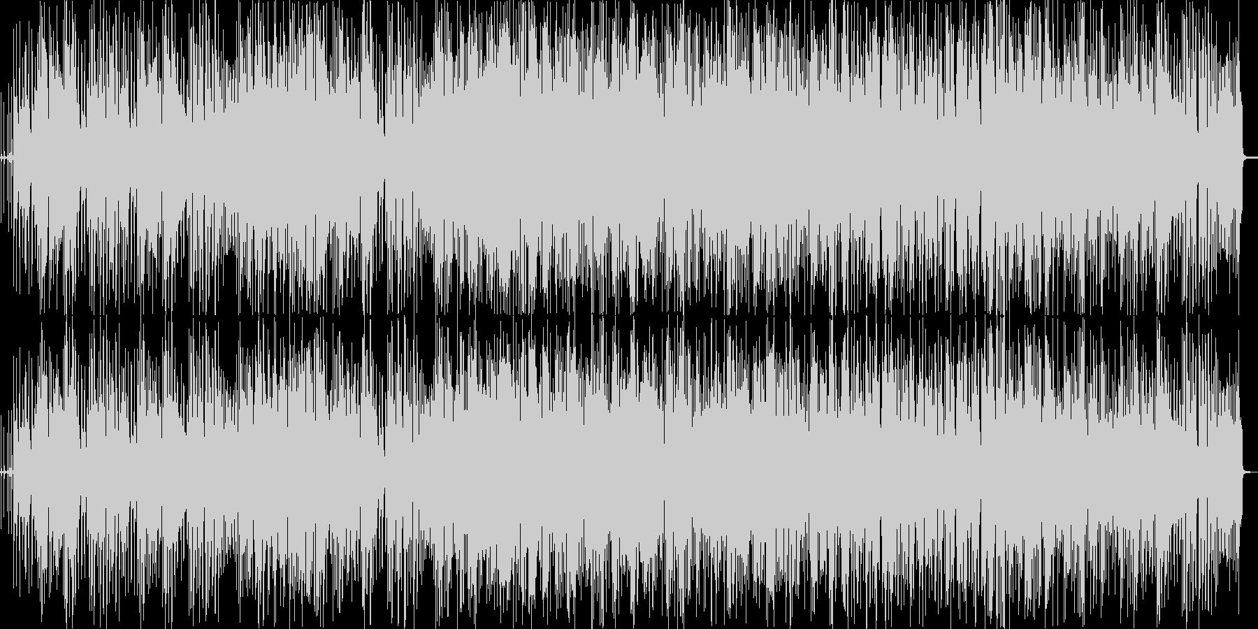 BGM_おしゃれなピアノトリオジャズの未再生の波形