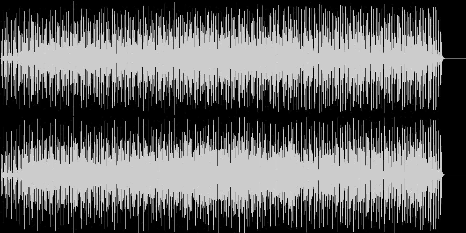 ボサノバ おしゃれ いきいきの未再生の波形