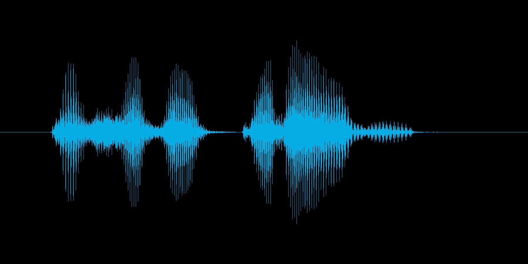 パシフィックリーグの再生済みの波形
