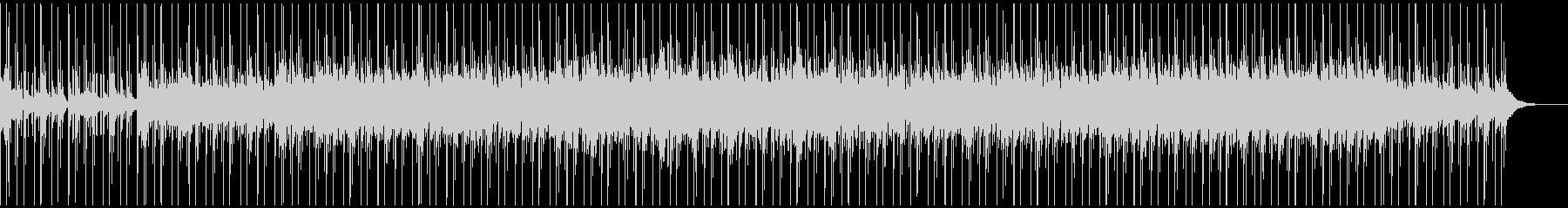 爽やかなリラックス系BGMの未再生の波形