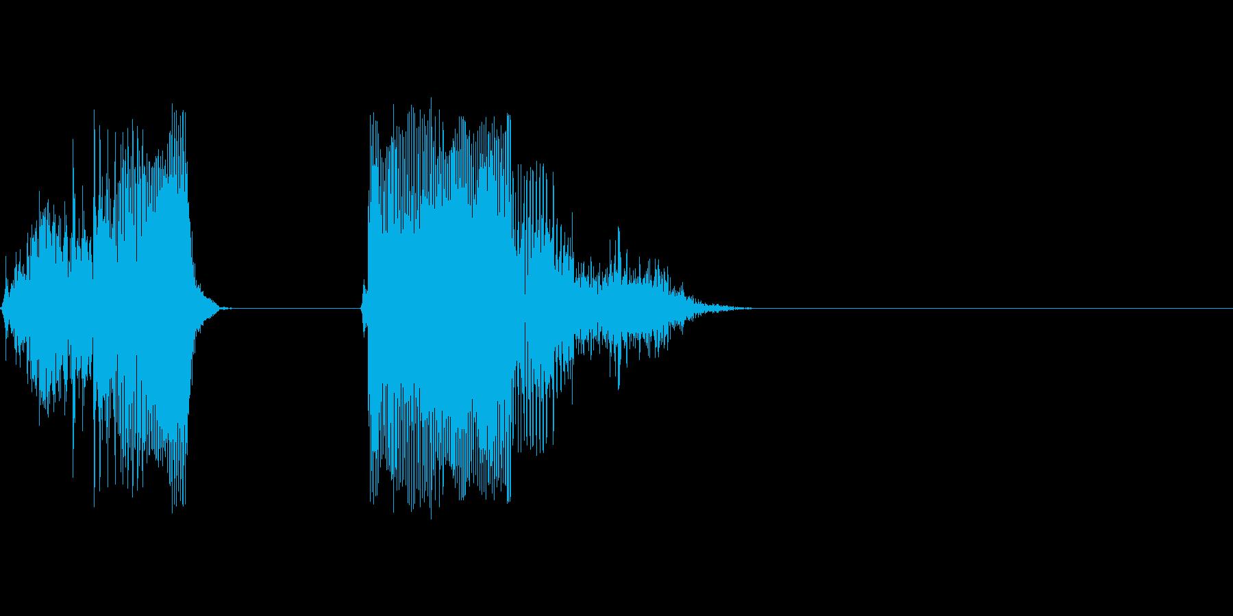 グッドの再生済みの波形