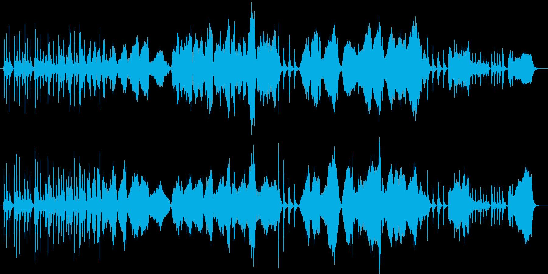 木管で表現したほのぼした日常の再生済みの波形