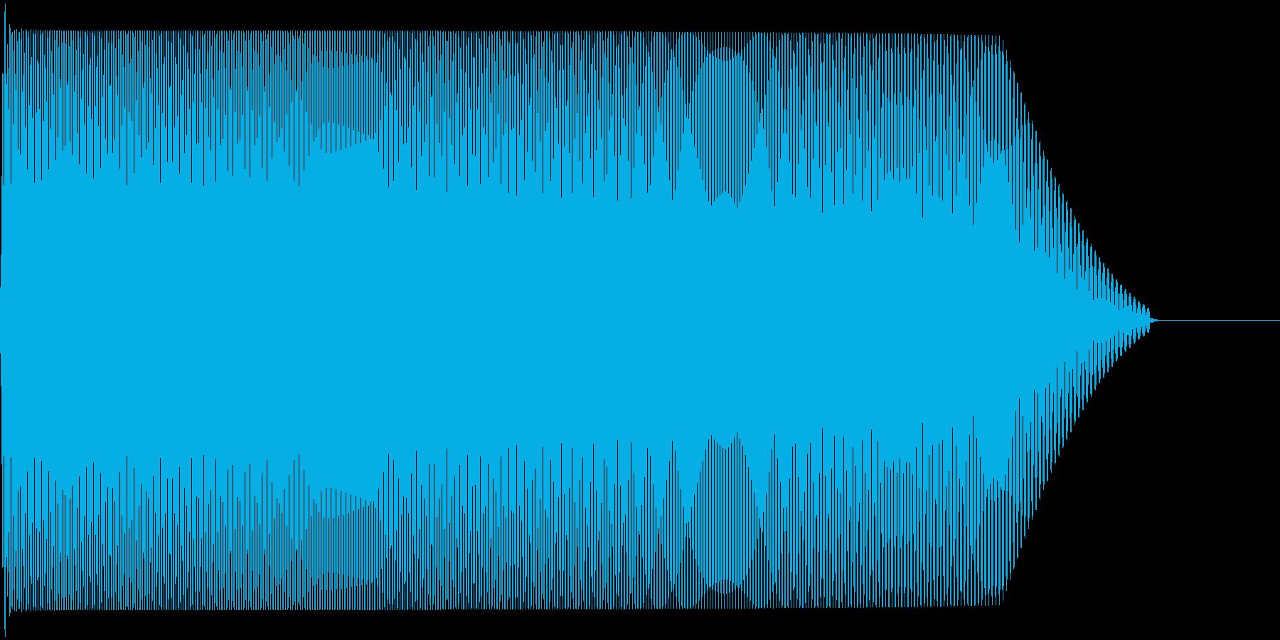メタルコアベースドロップ A1→A0の再生済みの波形