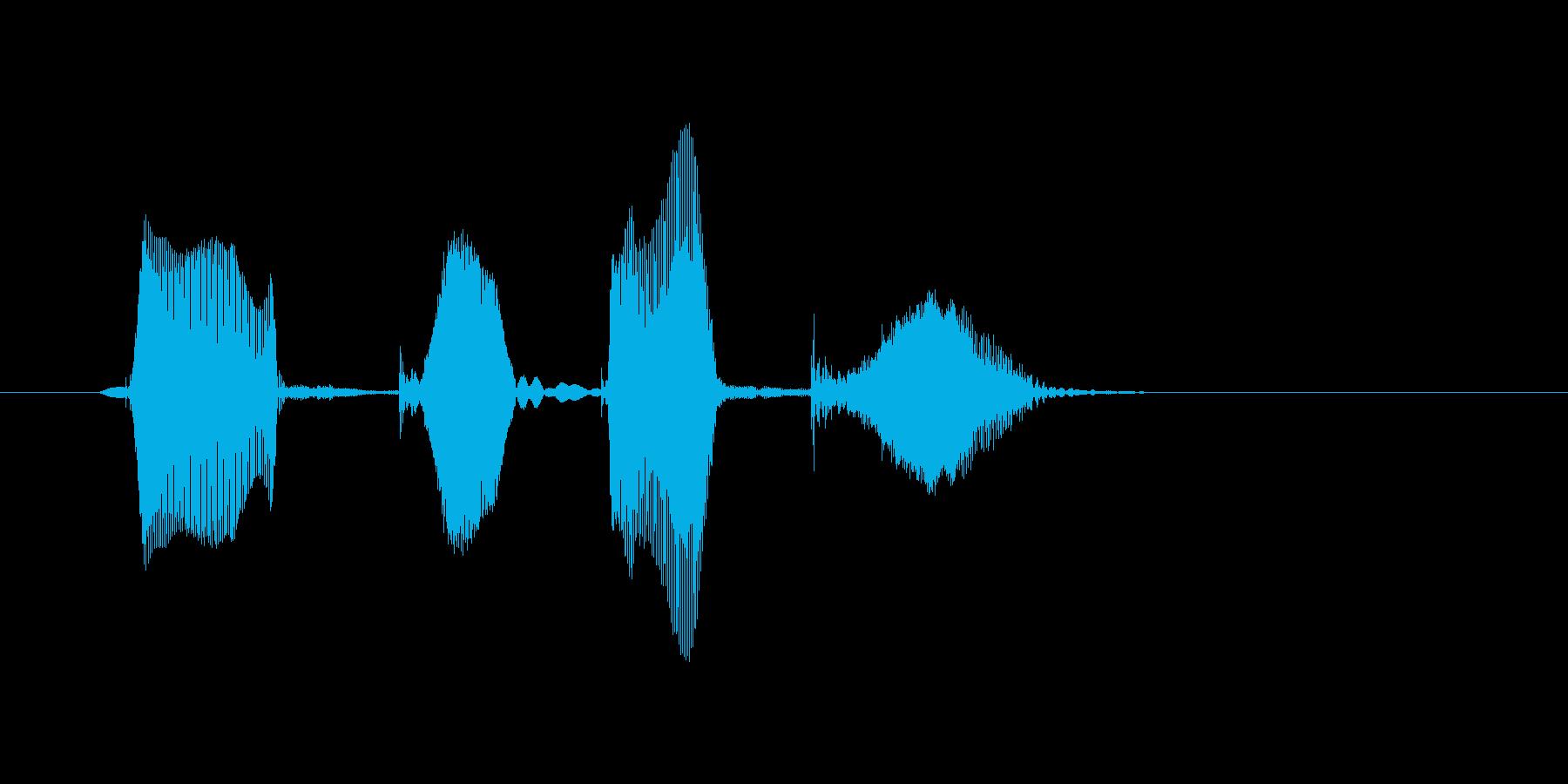 ドキドキ(どきどき)の再生済みの波形