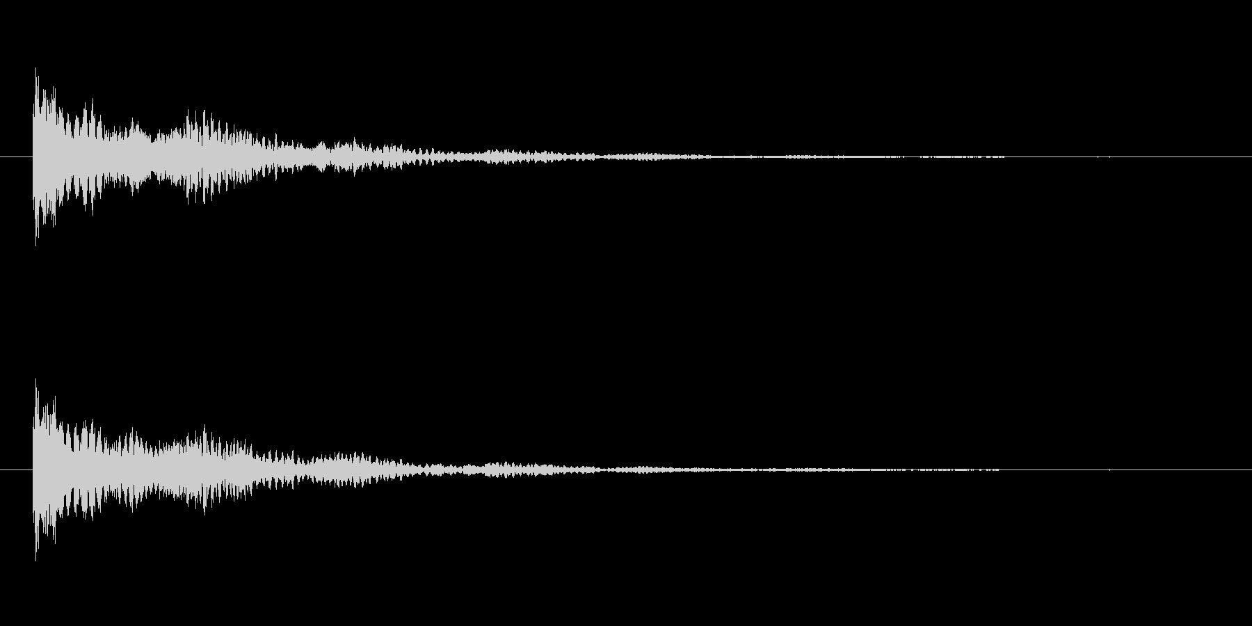 【ネガティブ01-2】の未再生の波形