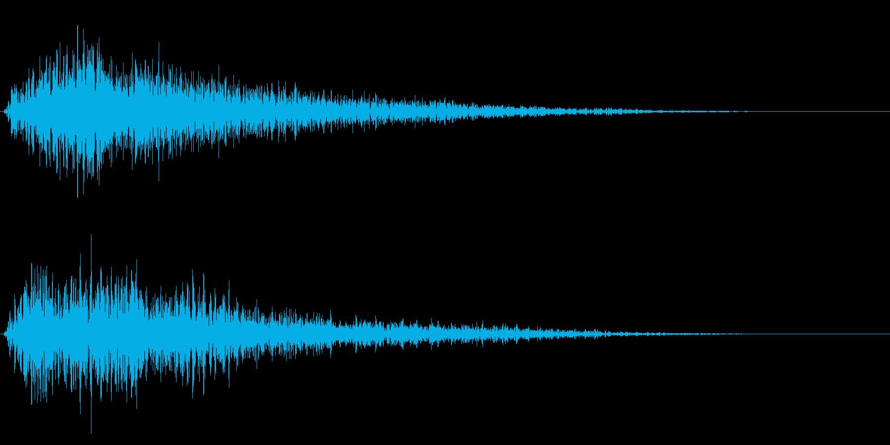 ゴージャスな決定音7の再生済みの波形