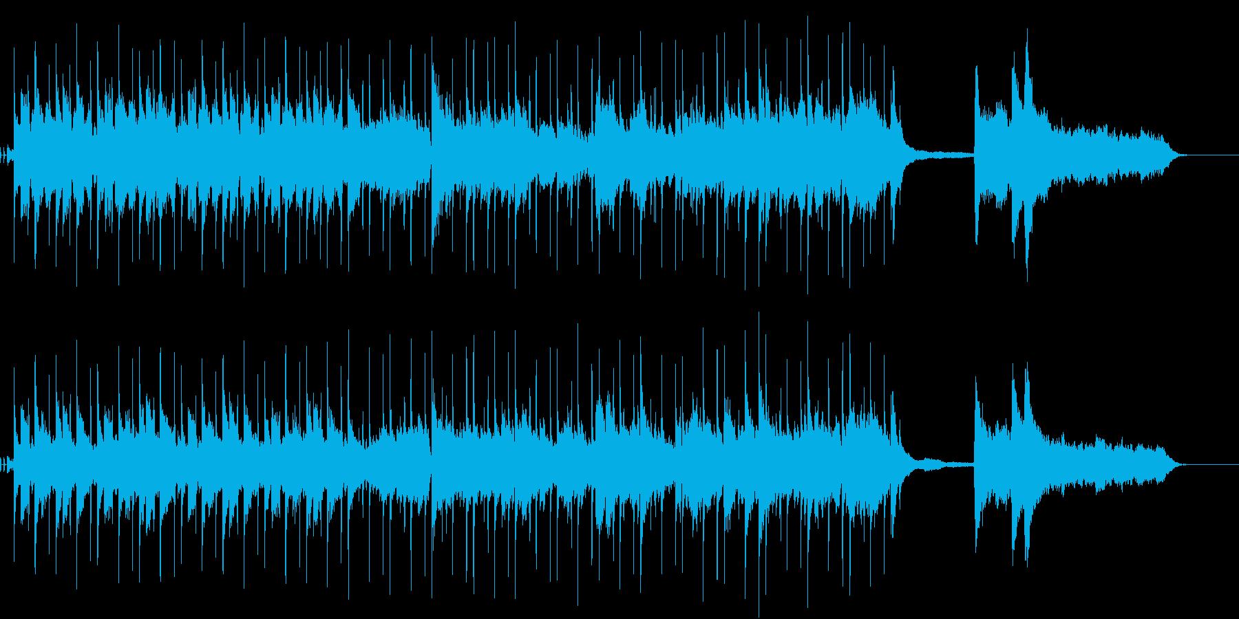 CM 企業VP 軽快 天気予報 カラオケの再生済みの波形