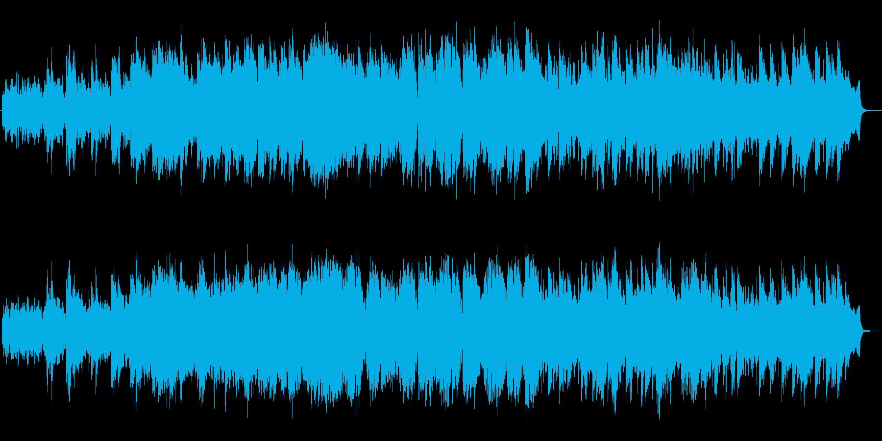 幻想的なヒーリングポップの再生済みの波形