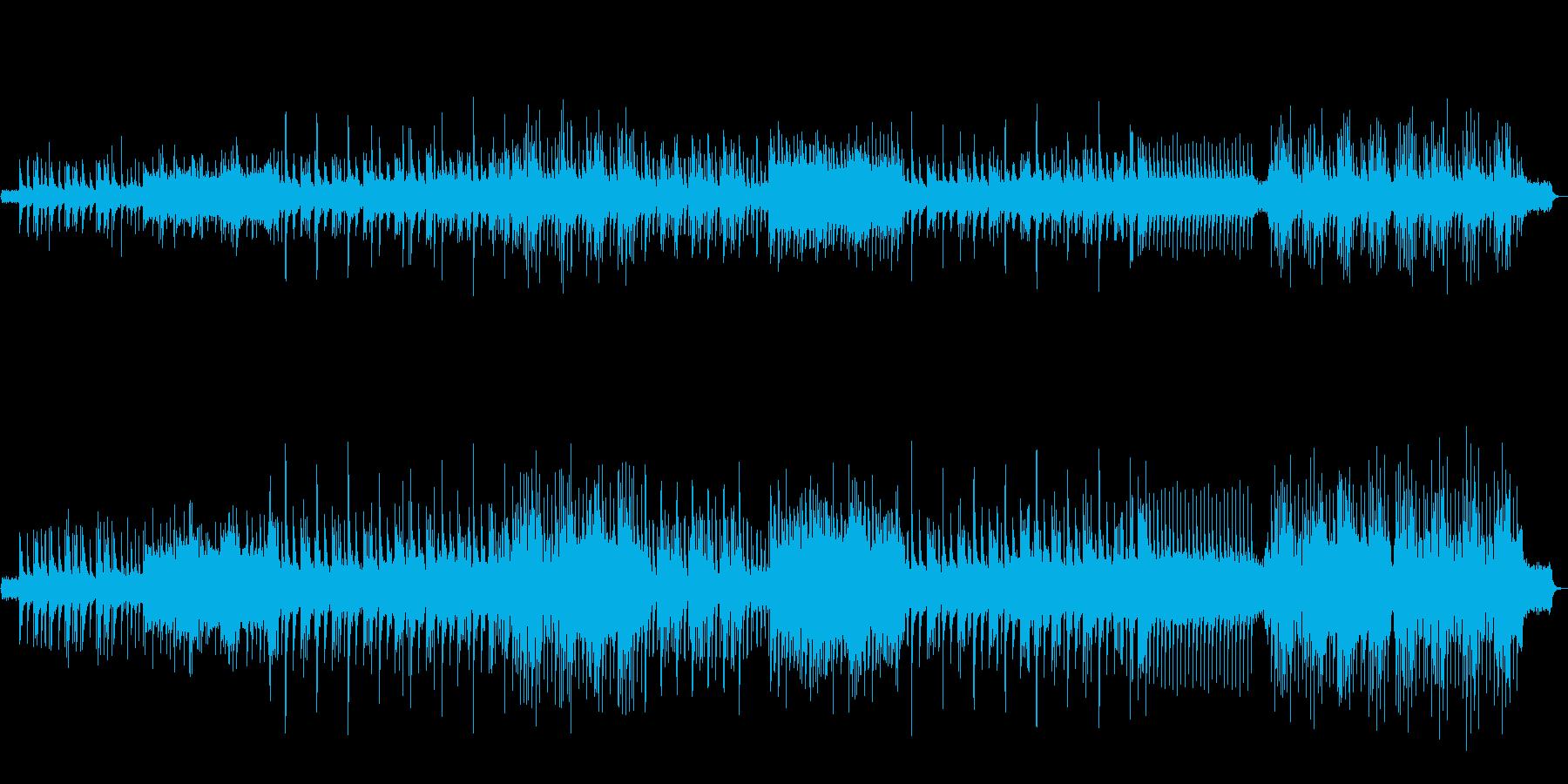 古城をイメージしたBGMの再生済みの波形
