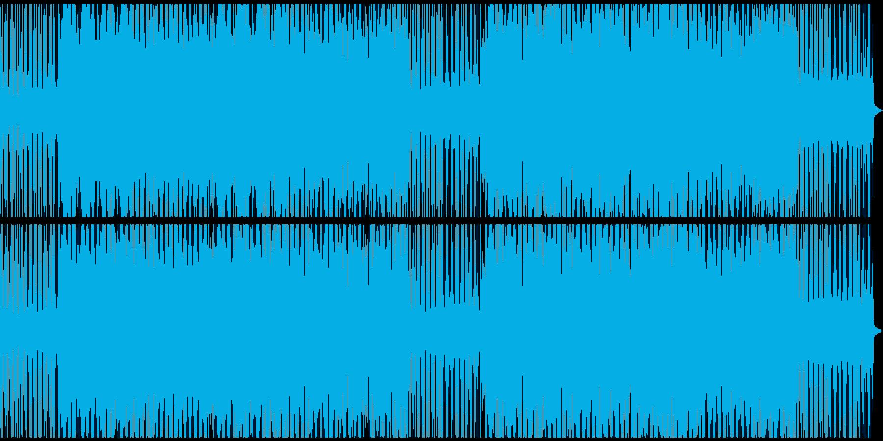 メロウでオシャレなピアノヒップホップの再生済みの波形