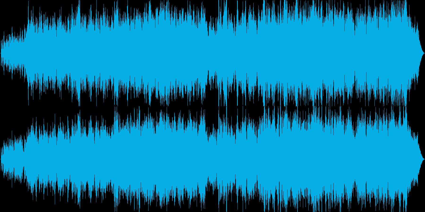 切ないイメージのバラード曲です。の再生済みの波形