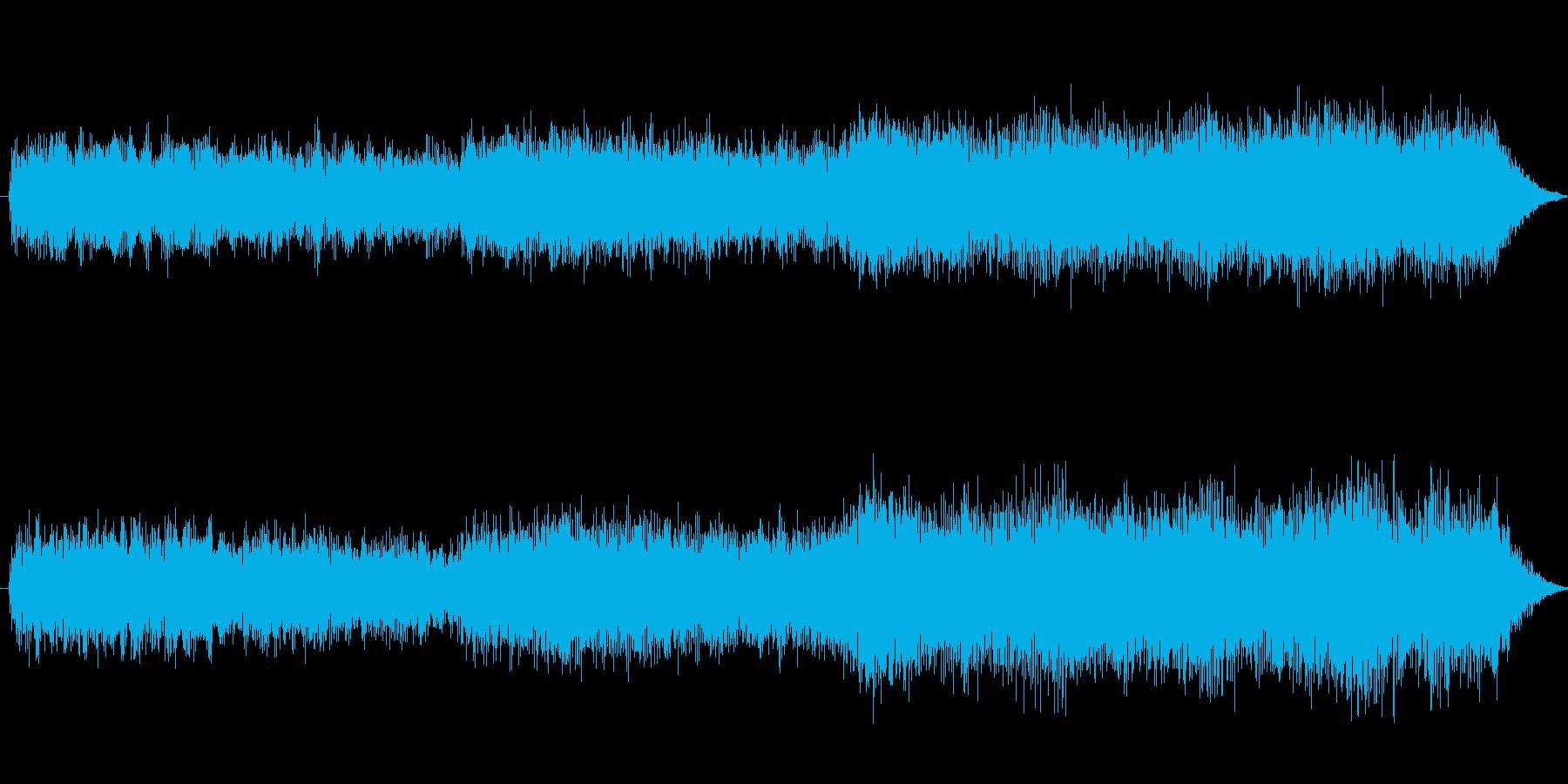 1分の短いアンビネントです。の再生済みの波形