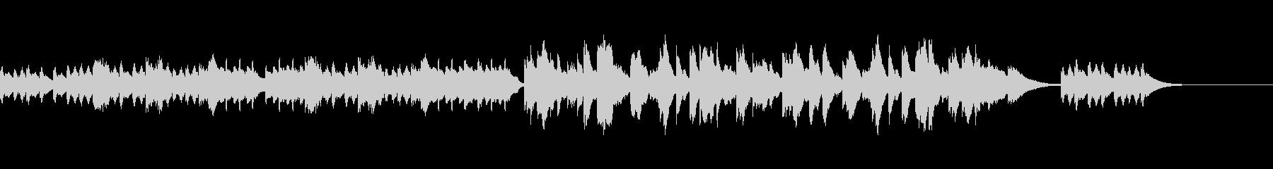 CMなどで使える落ち着いたピアノ曲の未再生の波形
