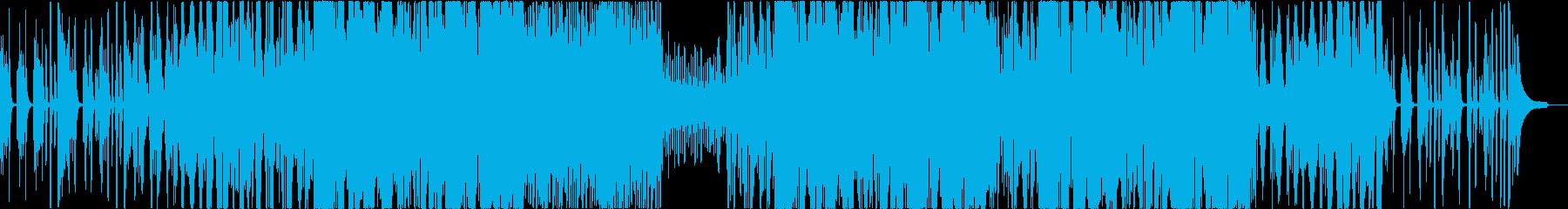 【リズム抜き】わくわくおしゃれなピアノ+の再生済みの波形