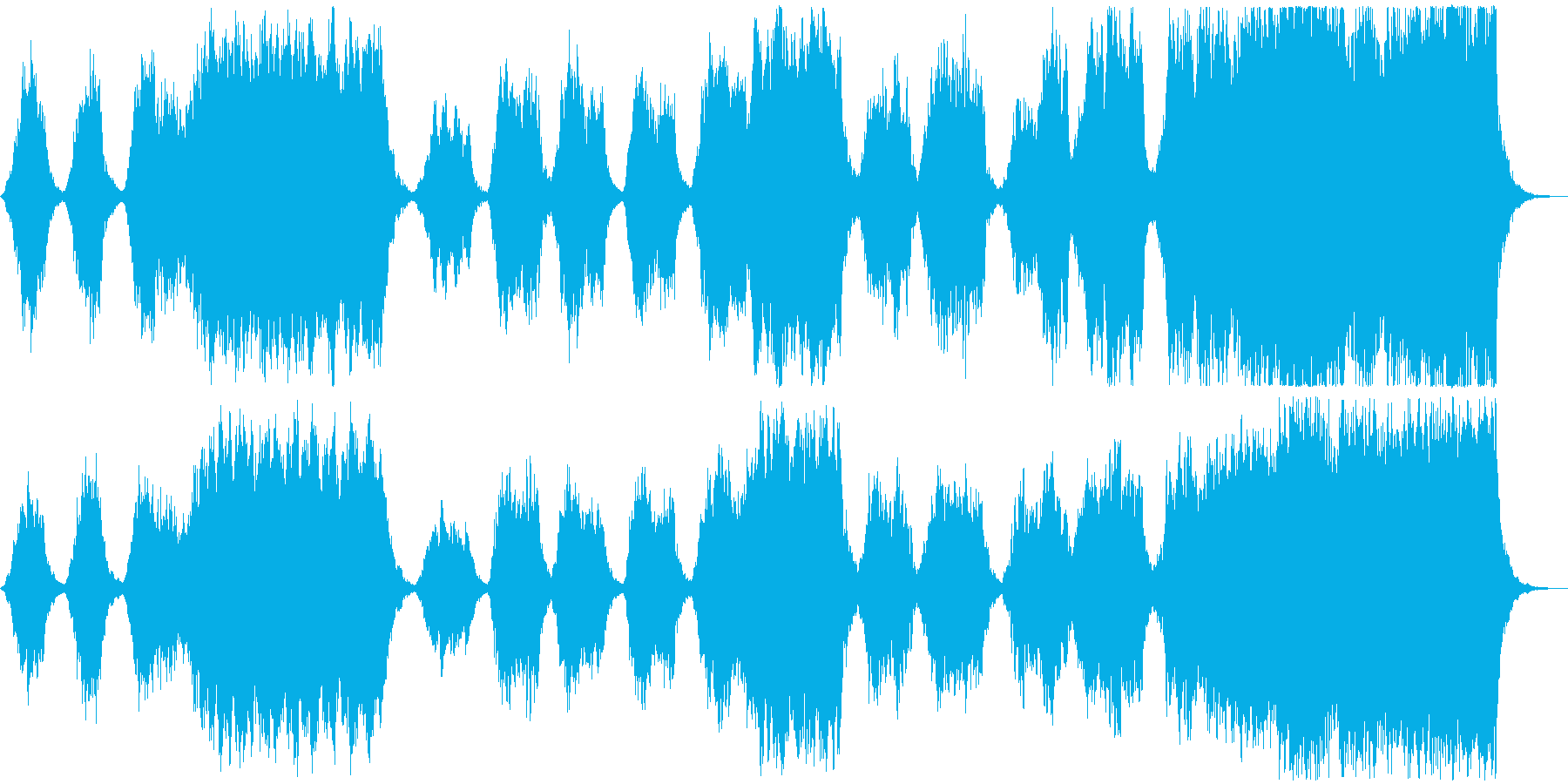 ストリングスのBGM。の再生済みの波形