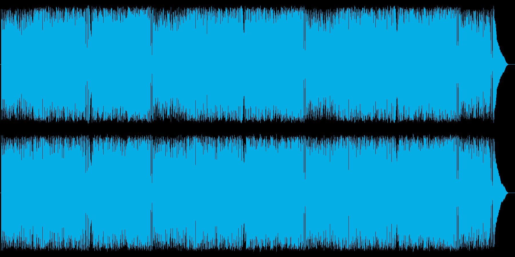 ショッピング さわやか CM 情報の再生済みの波形