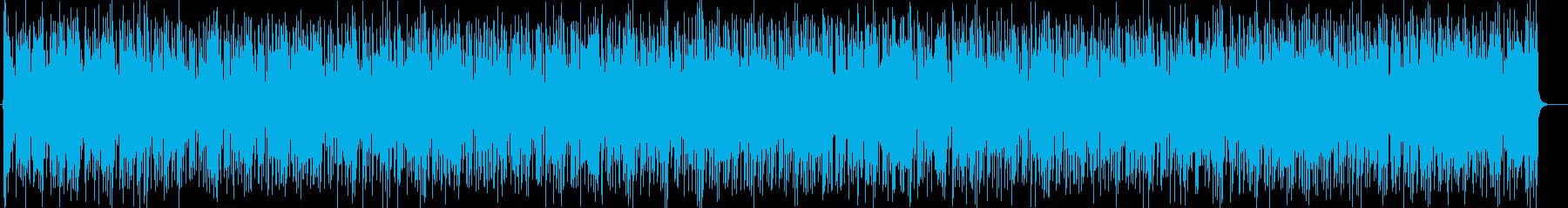 ダンサブルなリズムにシャープなサウンドの再生済みの波形