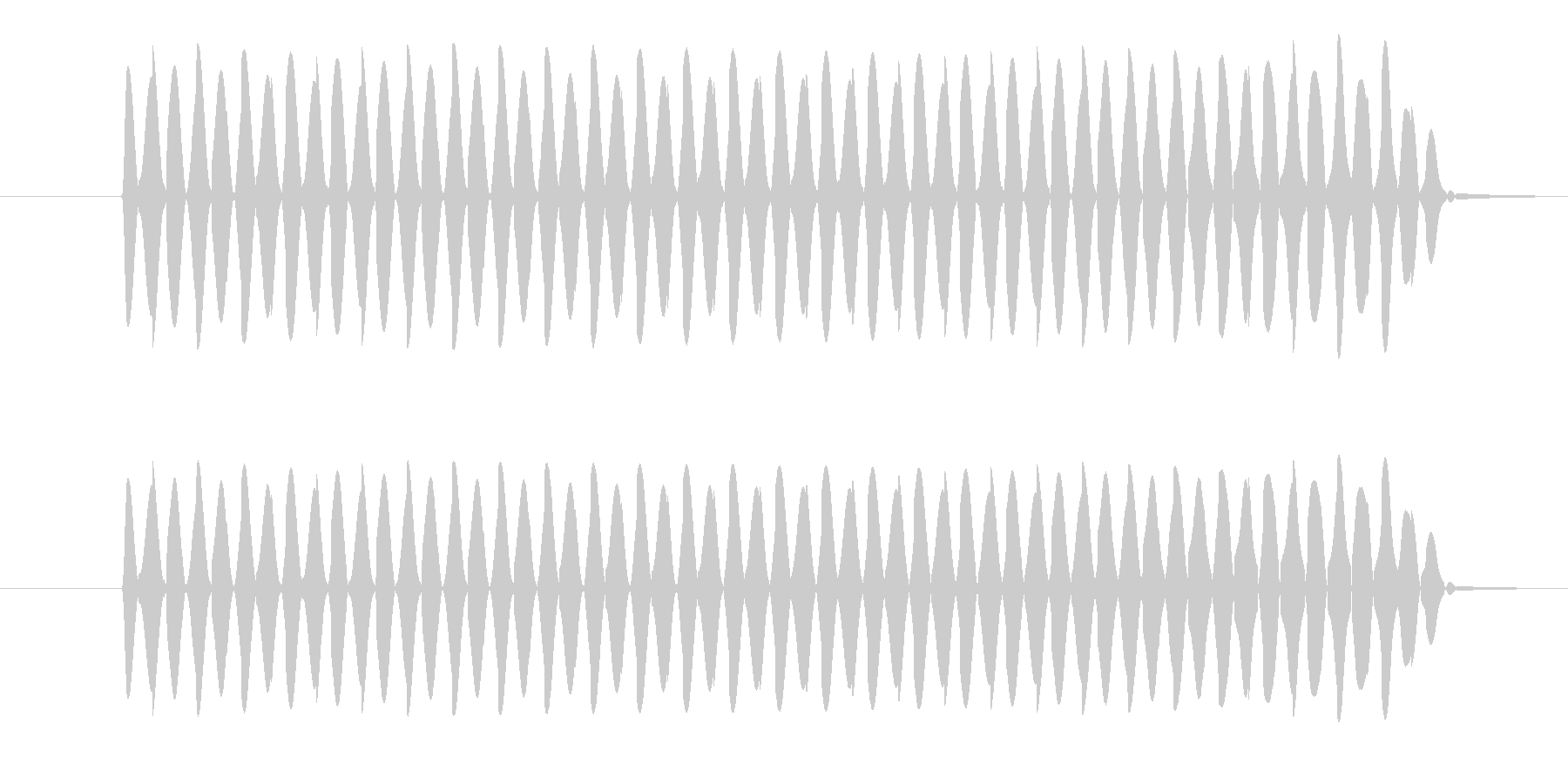 ゲーム、クイズ(ブー音)_005の未再生の波形