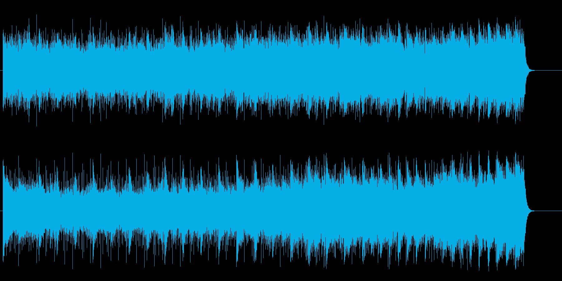 緩やかな浮遊感漂う神秘的な環境/BGの再生済みの波形