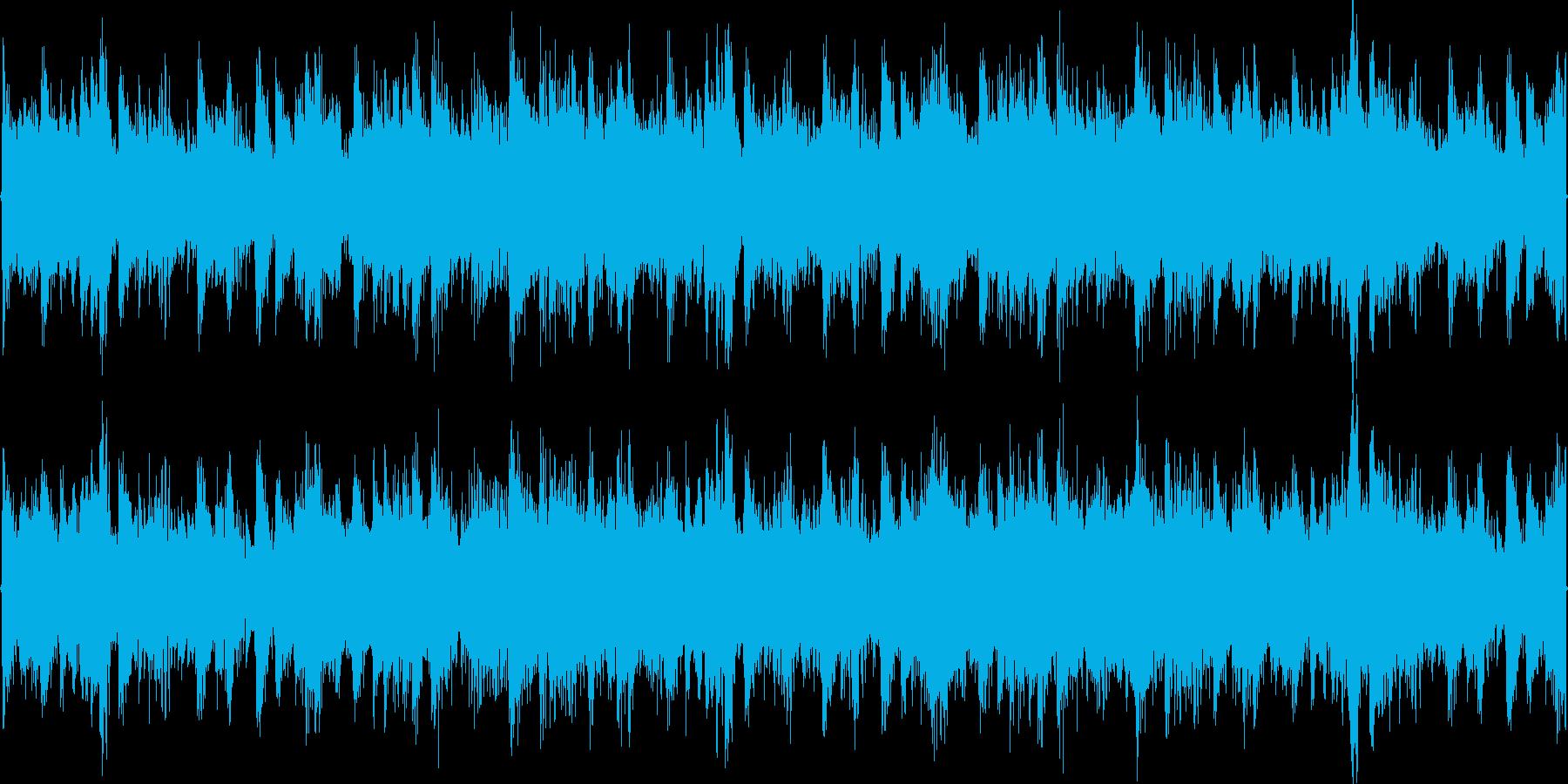 オールドスクールなBGM楽曲です。の再生済みの波形