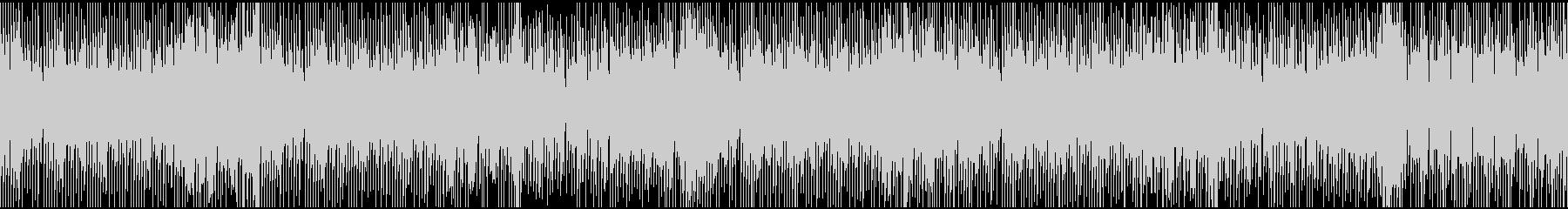 オープニング向き、軽快なBGM(ループ)の未再生の波形
