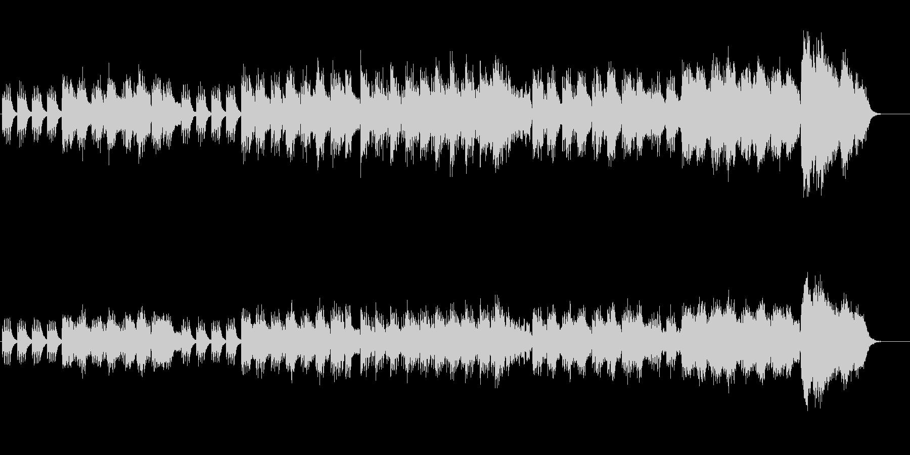 尺八風の音色で構築した邦楽サウンドの未再生の波形