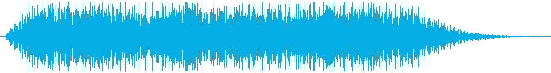 ウィーンウィーン、という警報音ですの再生済みの波形