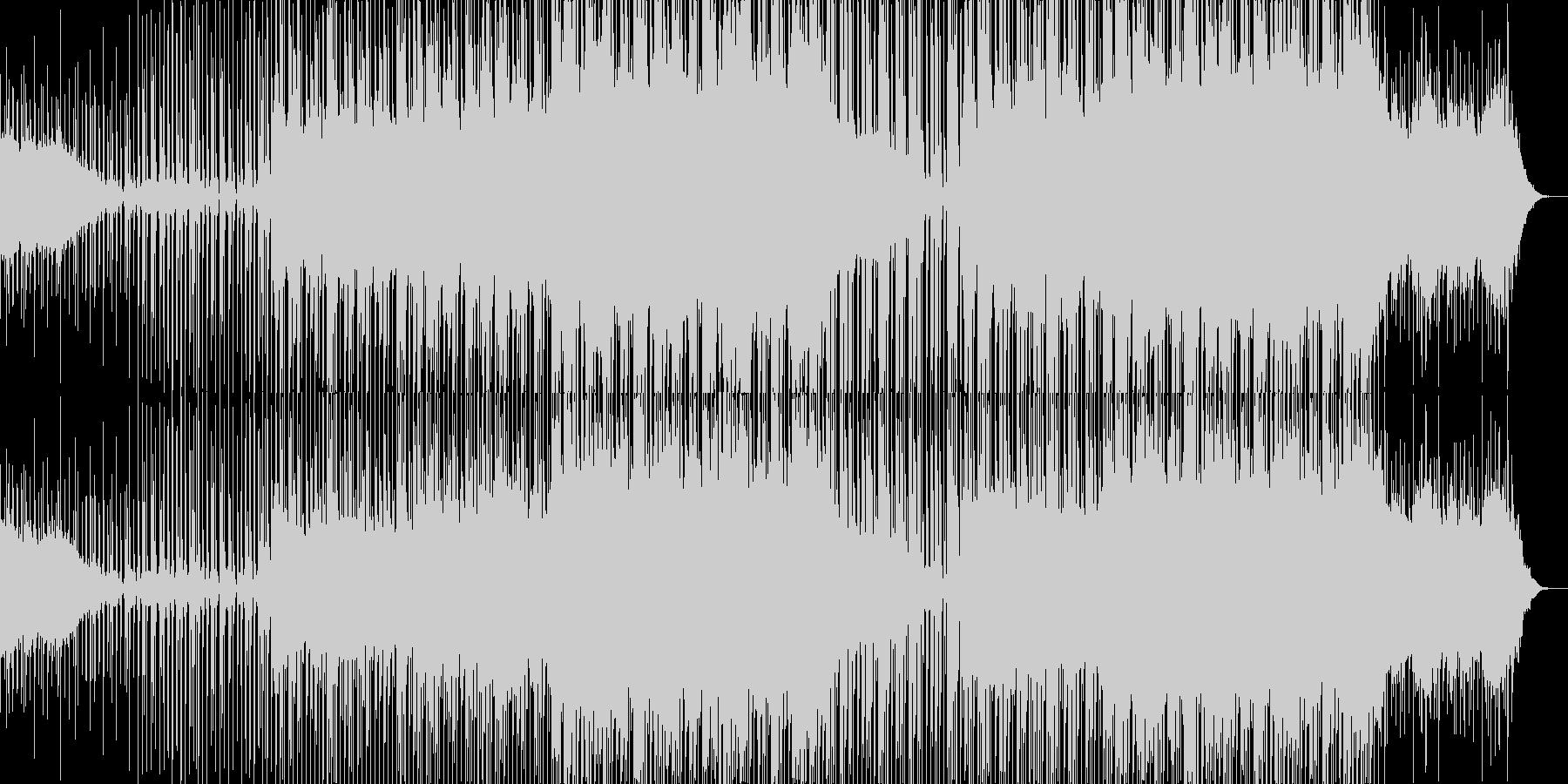 明るい躍動、壮大なメロディー、エレクトロの未再生の波形