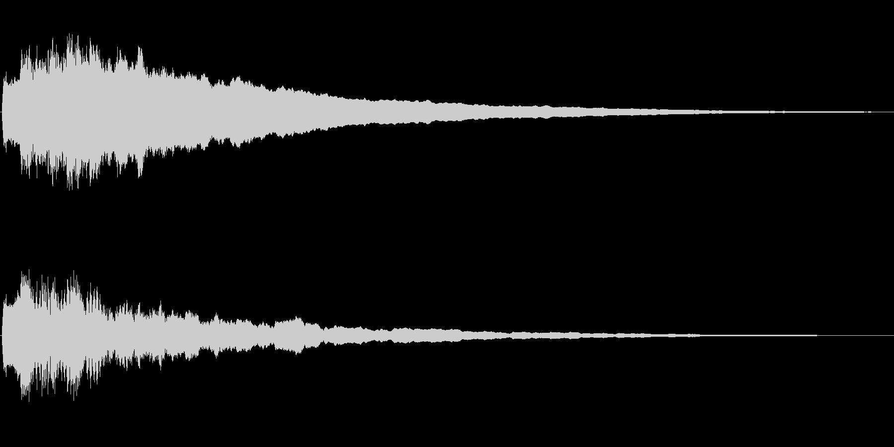 ジングル102aの未再生の波形