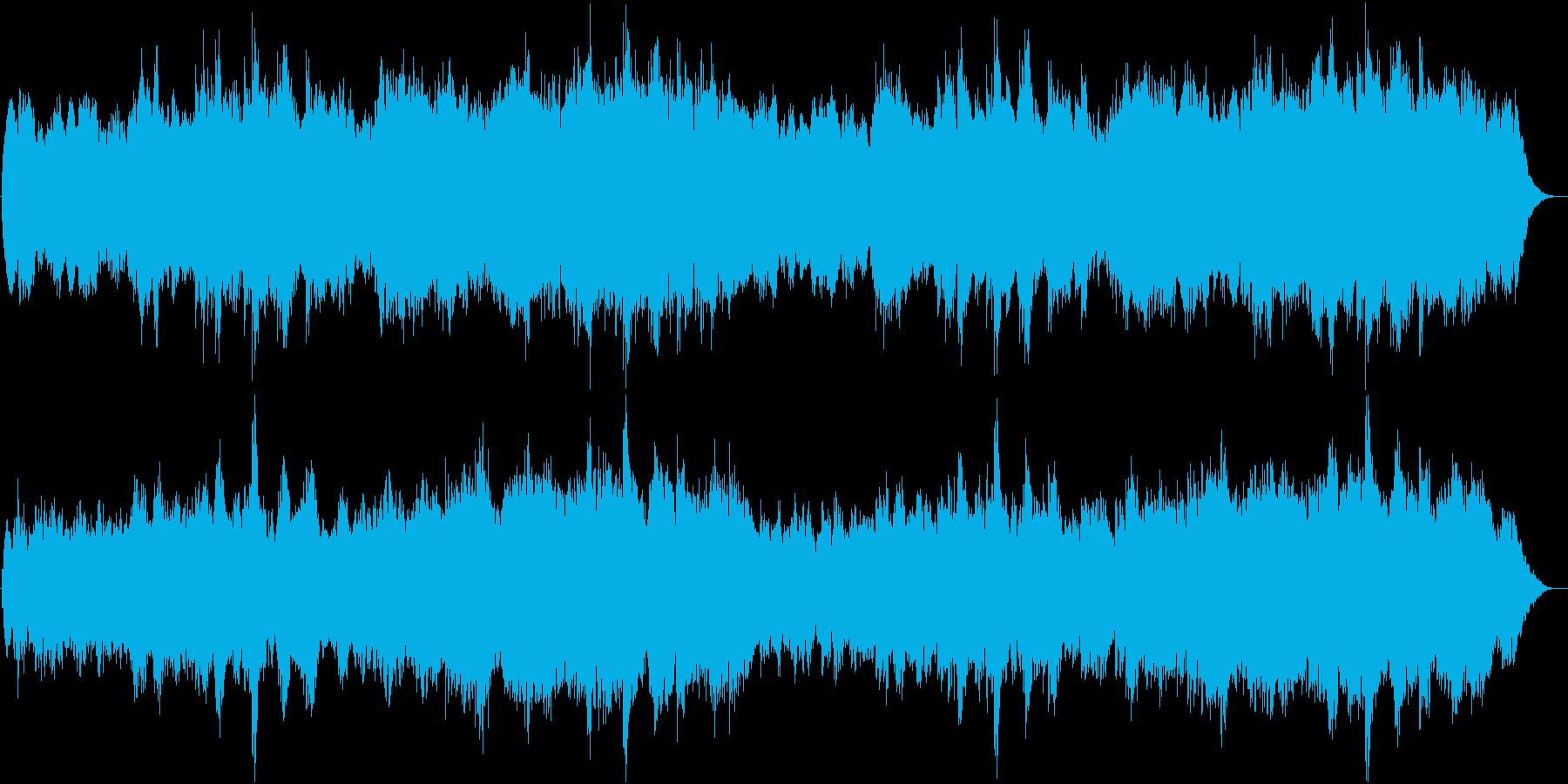 RPG向け神秘的な海底ステージBGMの再生済みの波形