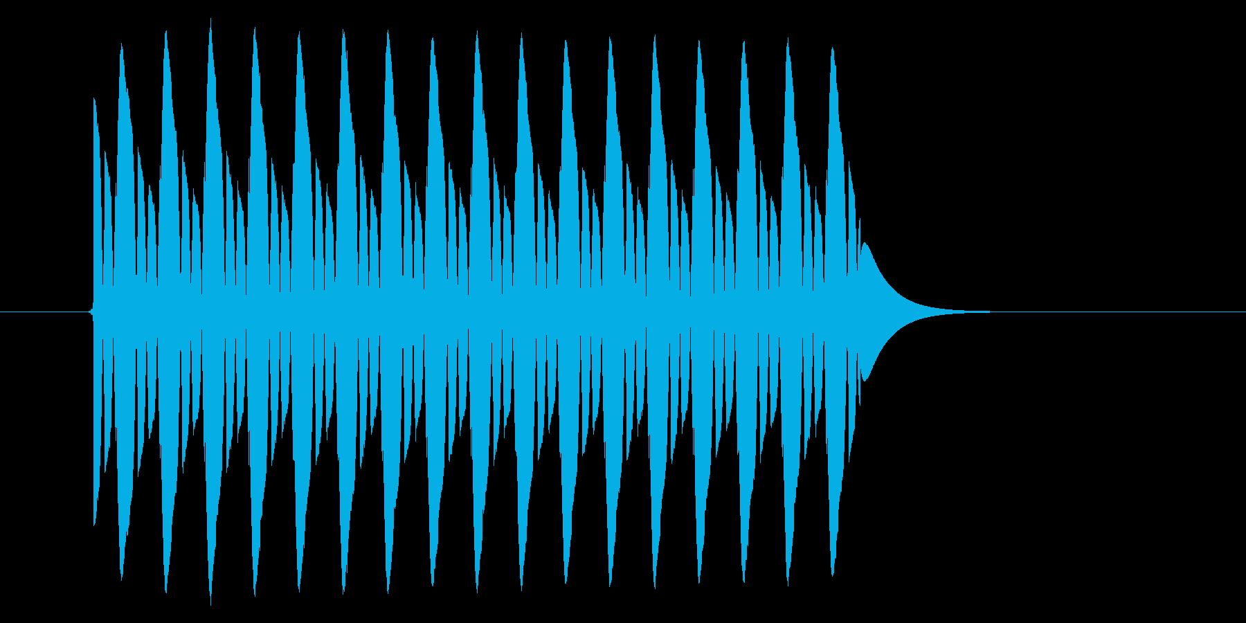 【効果音】クイズ系_はずれ02の再生済みの波形