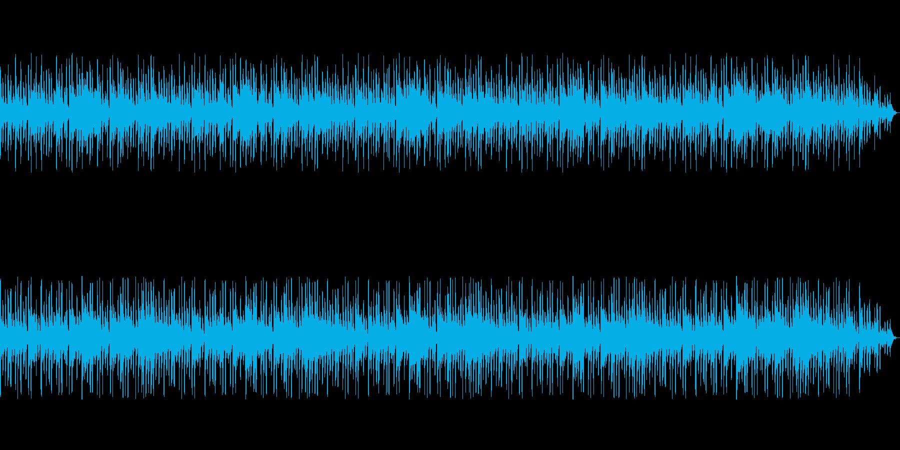 陽気なラテン調のジングル・管楽器メインの再生済みの波形