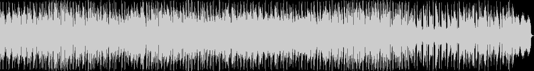 ナレーションの妨げにならないボサノバ曲の未再生の波形