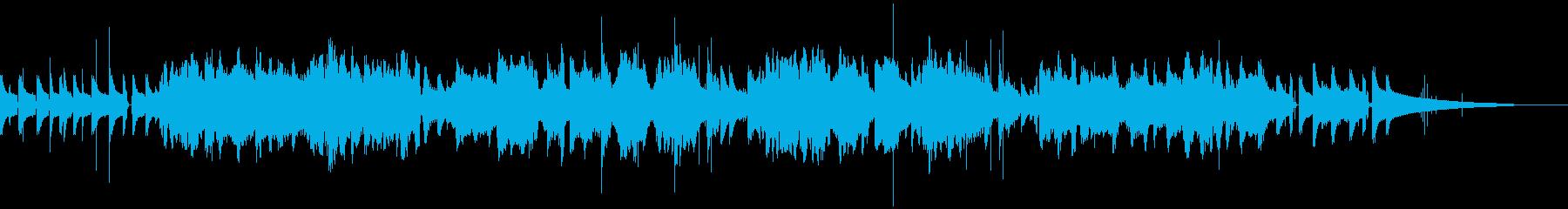 のんびりしたトロンボーンとフルートのボサの再生済みの波形