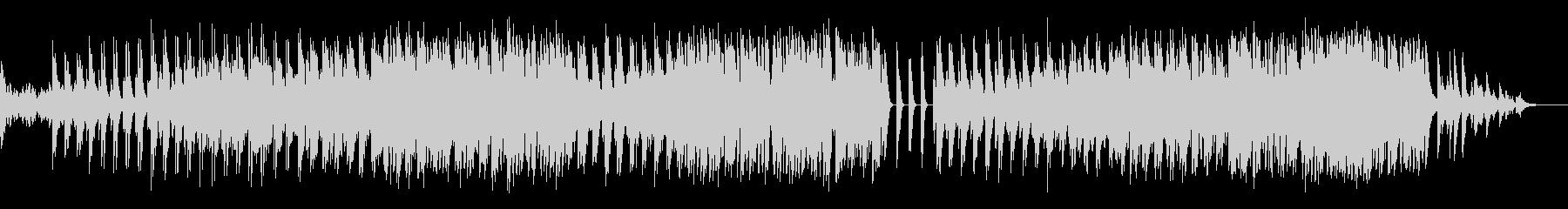 ピアノ 歌ものピアノ伴奏の未再生の波形