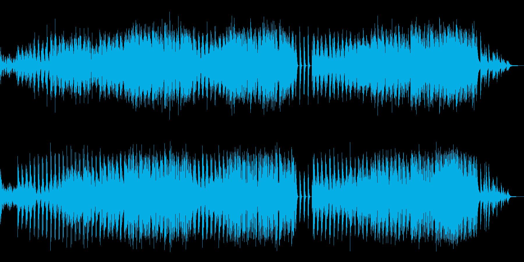 ピアノ 歌ものピアノ伴奏の再生済みの波形