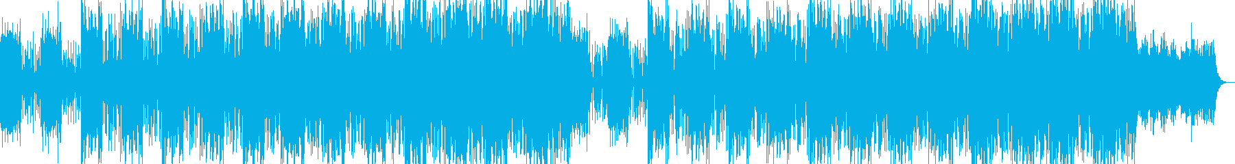 現代的でハイテンポなDnBテクノ-15の再生済みの波形