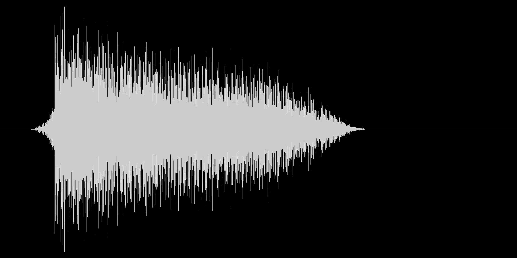 ゲーム(ファミコン風)爆発音_028の未再生の波形