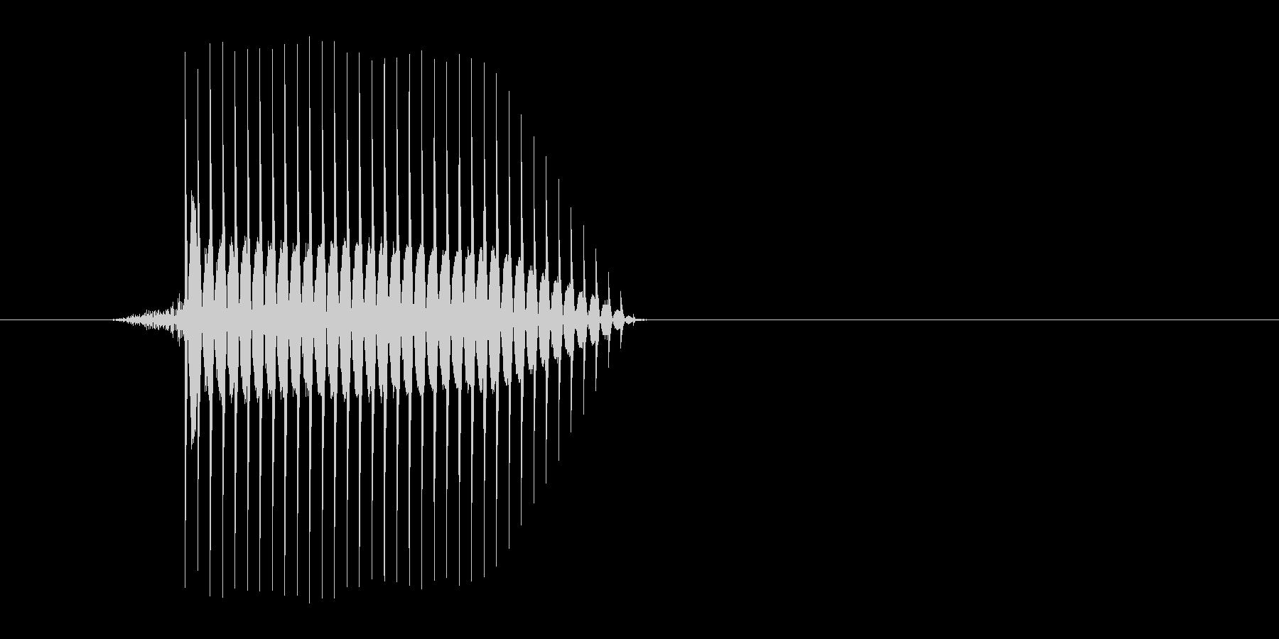 ゲーム(ファミコン風)セレクト音_030の未再生の波形