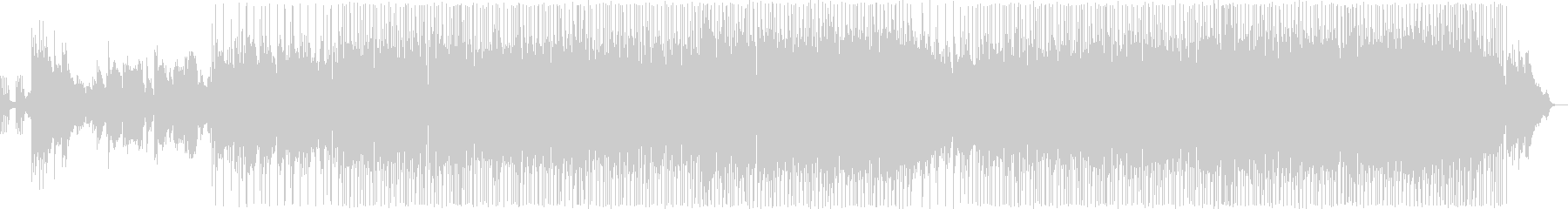 優しい雰囲気のR&Bバラードの未再生の波形