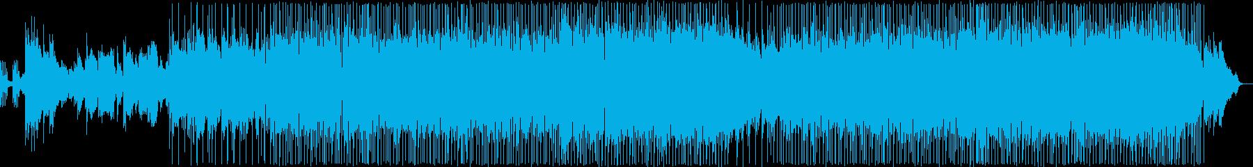 優しい雰囲気のR&Bバラードの再生済みの波形