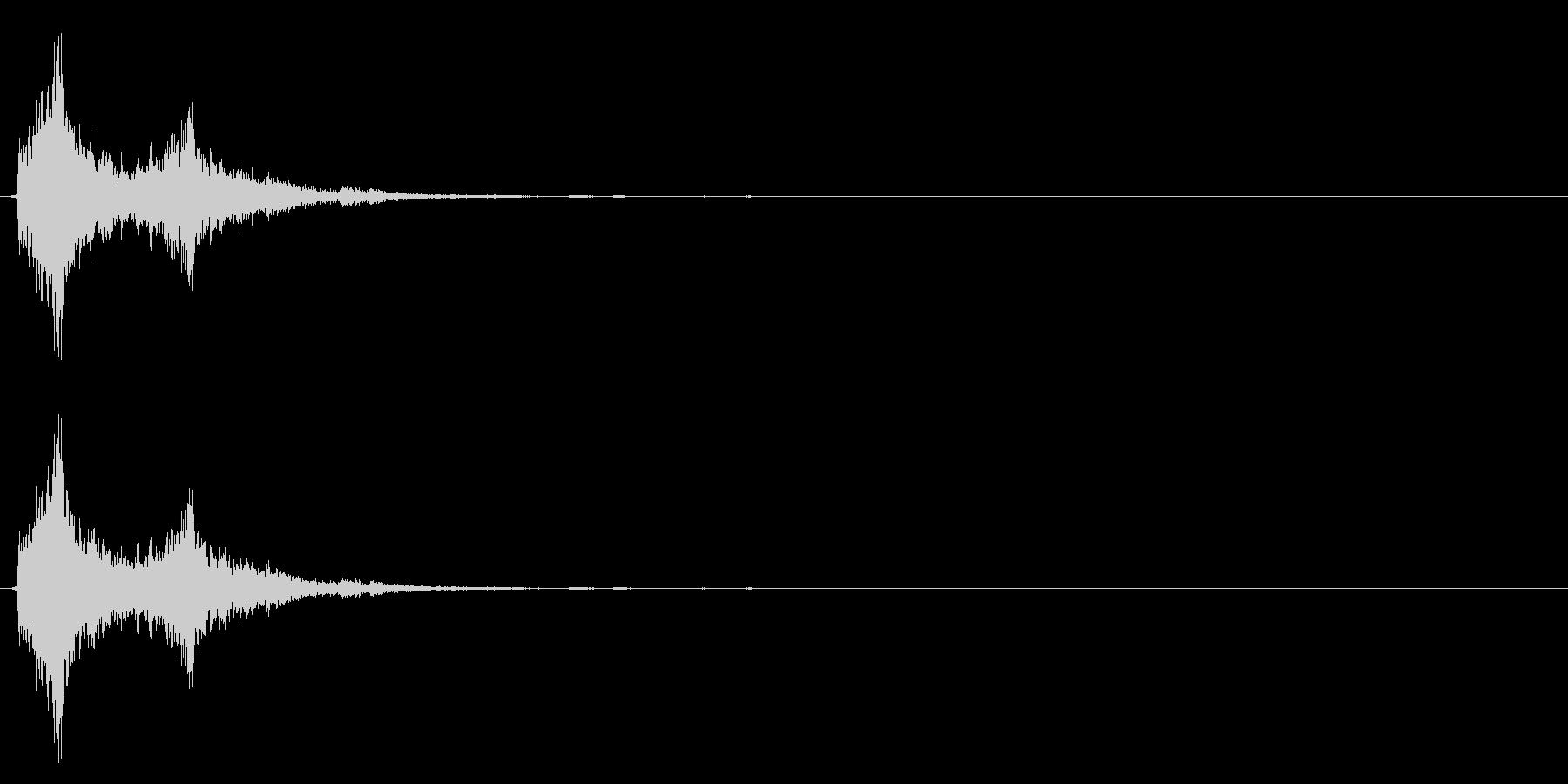 カランコロン☆ドアベルの音の未再生の波形