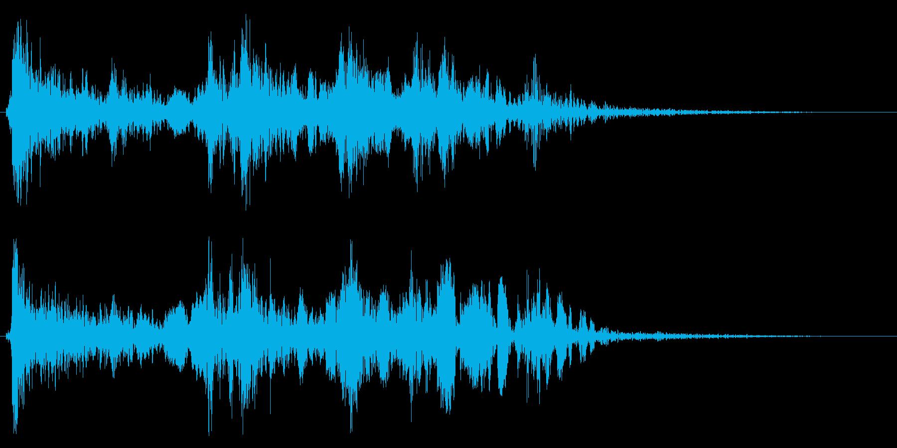 ドンガラガッシャン(静かめ)の再生済みの波形