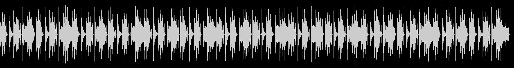 FM音源のループの未再生の波形