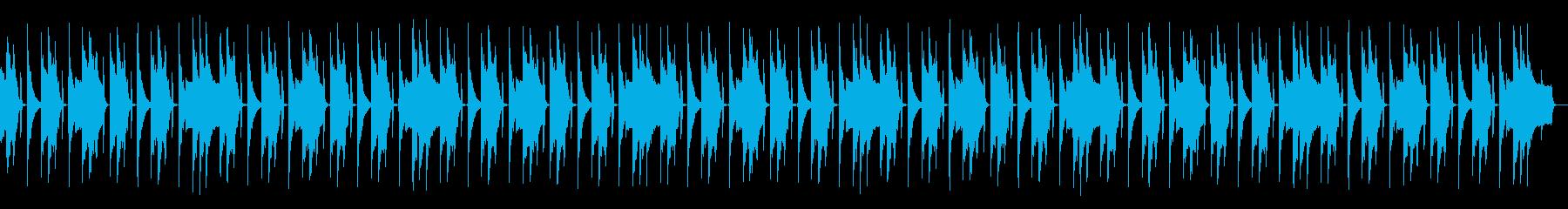 FM音源のループの再生済みの波形