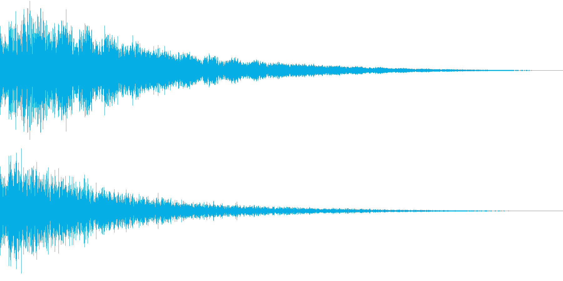 AnimeFX ゲゲゲな雰囲気の妖怪SEの再生済みの波形