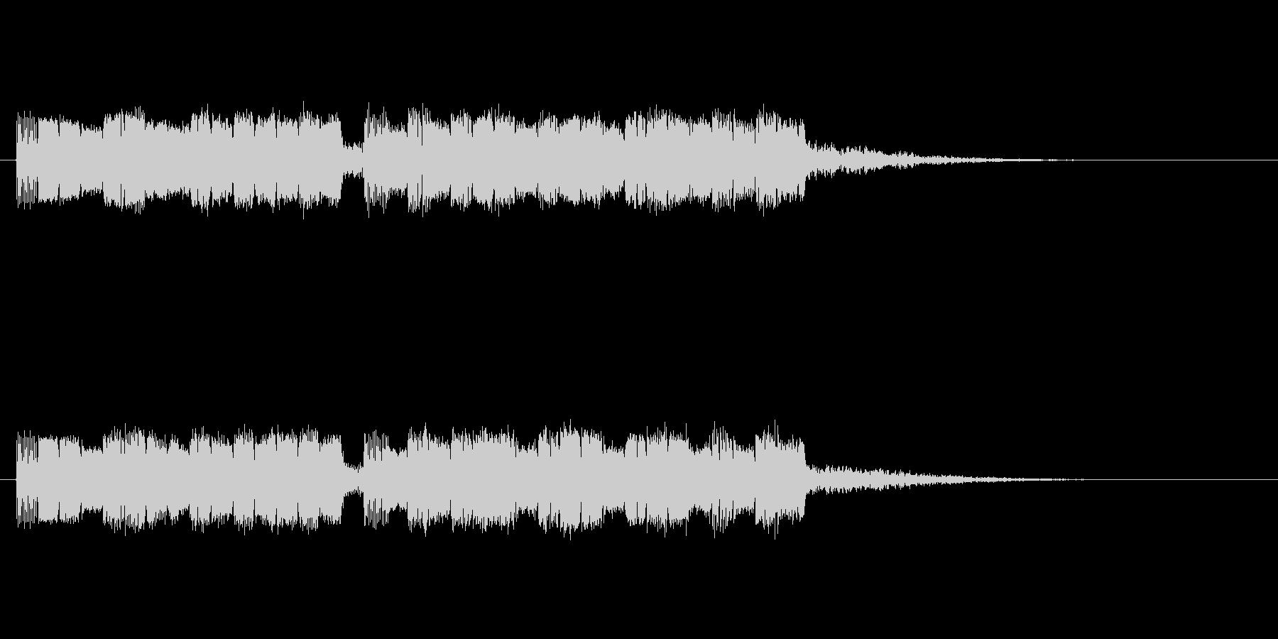 ドキャキャの未再生の波形