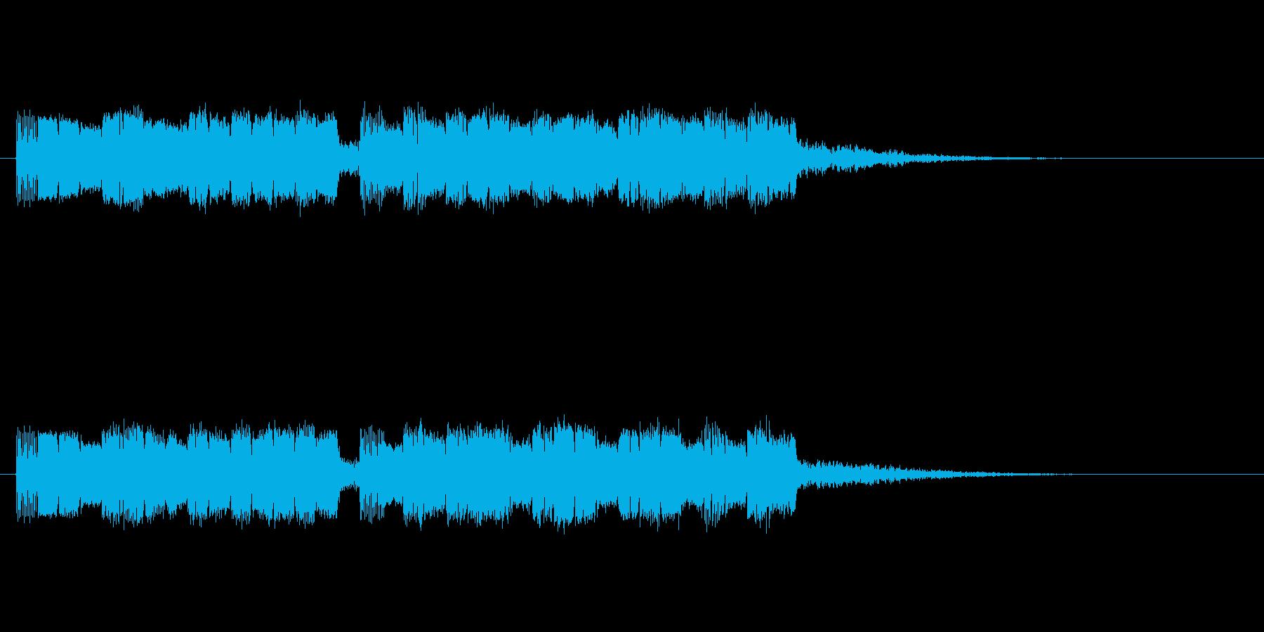ドキャキャの再生済みの波形