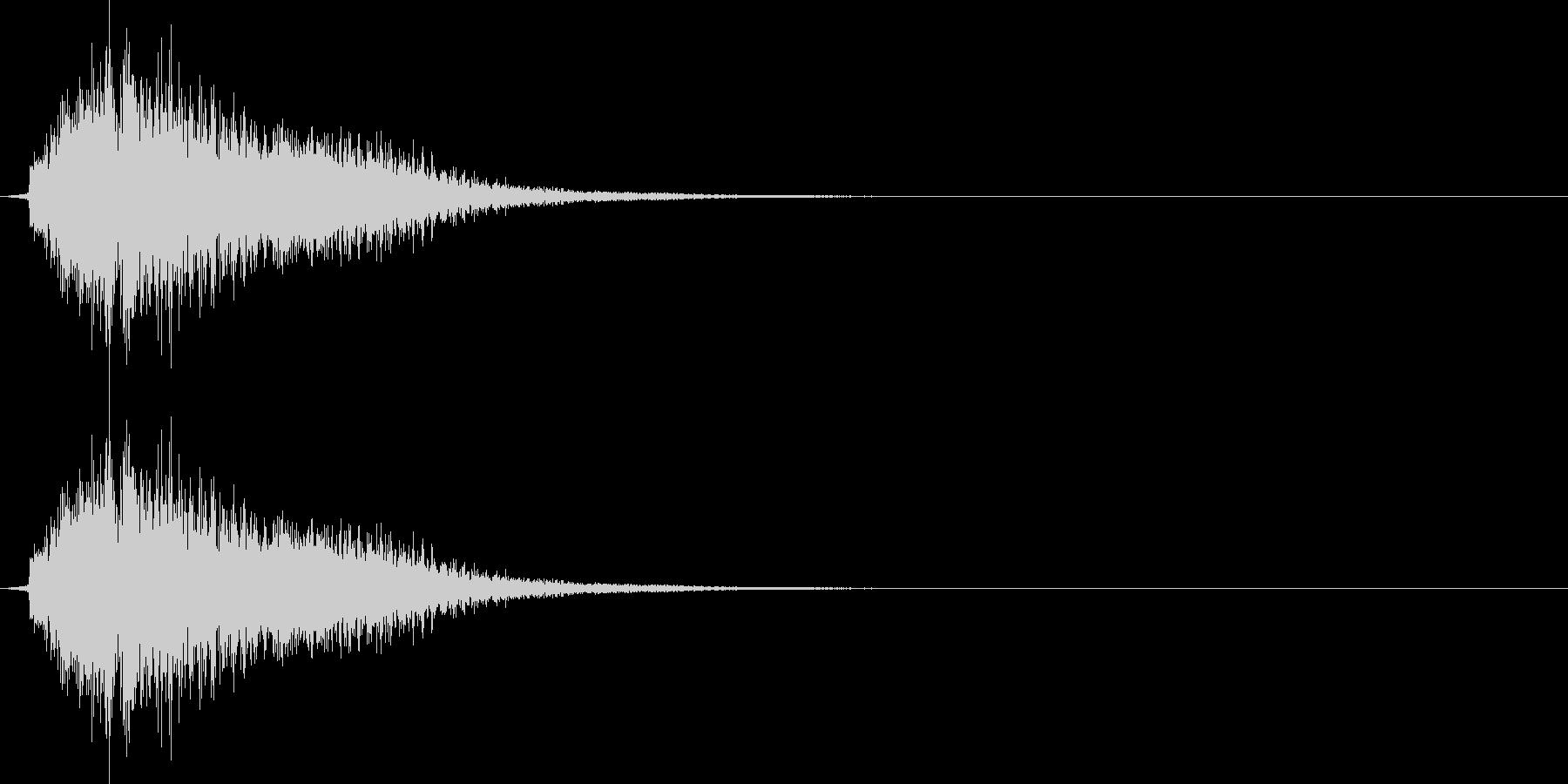 テロン(ゲーム、決定、アプリ)の未再生の波形